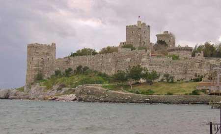 قلعه تاریخی بدروم در ترکیه