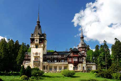 Peles-Castle-In-Sinaia