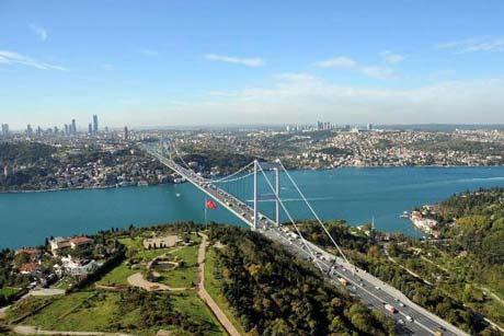 تصویر تنگه بسفر استانبول