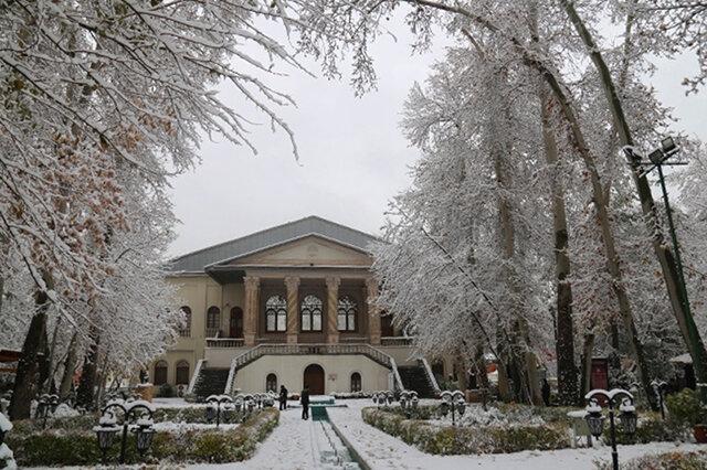 عکس تهران در زمستان برفی