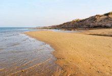 تصویر ساحل زیبای ریشهر در بوشهر